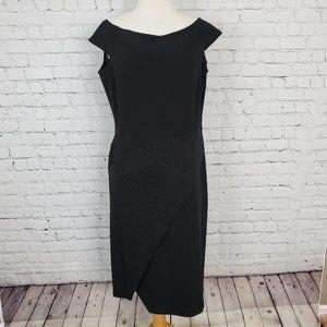 Donna Karan Sleeveless Black Dress 10 NWT